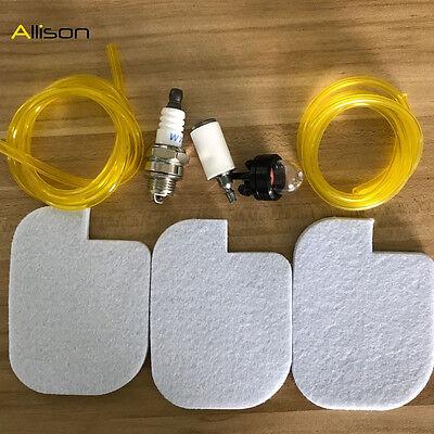 Air Filter Poulan P3416 P3314 PP3516 P3616 P3816 P4018 PPB3416 Fuel Line Filter
