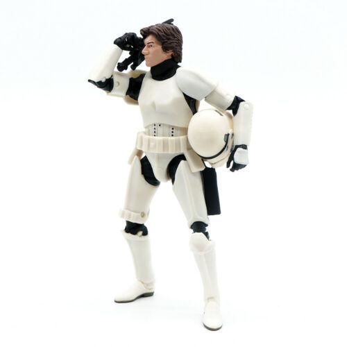 """Star Wars The Black Series Han Solo stormtrooper Type 6/"""" Action Figure No Box"""
