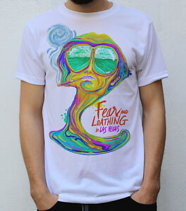 Fear and Loathing in Las Vegas Raoul Duke Hemd T-shirt Top Cosplay Kostüm Party