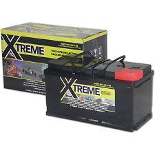 Xtreme Deep Cycle 110ah AGM Leisure Low Case Battery Caravan,Camper,Marine