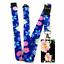 HD FLOWERS Design SpiriuS Lanyard Neck Strap /& Standard size ID badge holder