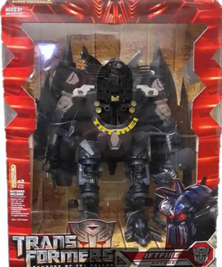 redF Revenge Of The The The Fallen Leader Class Jetfire Action Figure 9  Toy New in Box ab618a