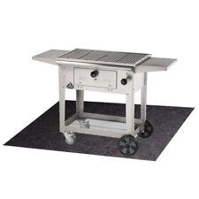 G Floor Gas Grill Mat Silver Flame Resistant Deck Patio Protection 47 X 32 Günstig Kaufen Ebay