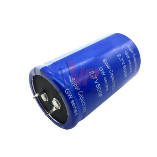 1-4PCS 2.7V 500F Farad Capacitor Electrical Component Super electric capacity