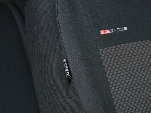 Sur mesure housses de siège pour Skoda Fabia III 2014-Sur set complet
