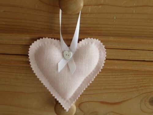 Laura Ashley Bacall Blush Hanging heart