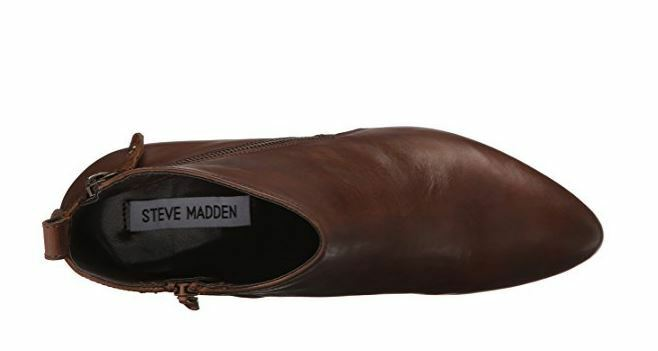 Steve Madden Women's Jaydun Boot, Cognac Leather, 10 M M M US 872bd4