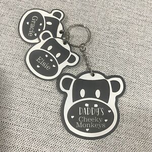 Personalised Gifts For Daddy Mummy Nanny Grandma Mum Mothers Day Keyring Gifts