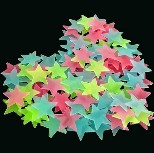 Home & Garden 3D 8x Planets 100x Star Glow In The Dark Wall ...
