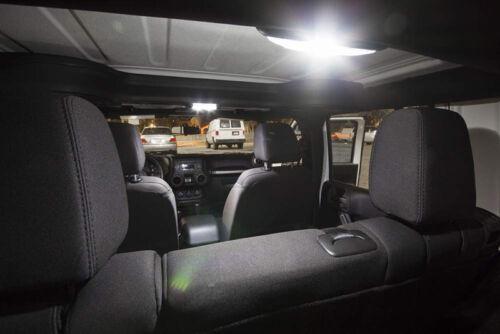 License Plate Lights For 2007-2017 Jeep Wrangler JK 6 x White LED Interior Bulb