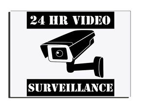 24HR-CAMERA-VIDEO-SURVEILLANCE-DOOR-FENCE-GATE-WARNING-SIGN-FREE-UK-DELIVERY