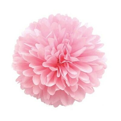 5pcs 13CM 20CM 25CM Tissue Paper Pom Poms Flower Balls Wedding Party Shower Deco