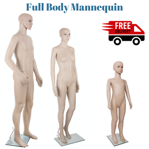 NEW-Full-Body-Mannequin-Shop-Stall-Retailer-Manequin-Dressmaking-Clothes-Display
