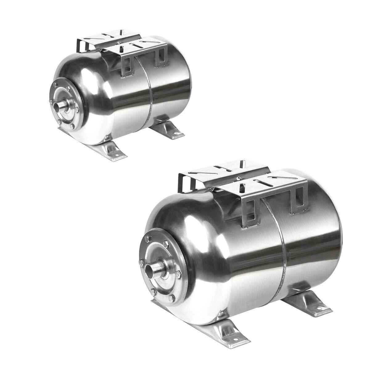 Edelstahl Membrankessel 24l 50l Druckkessel INOX Druckbehälter Kessel Membrane