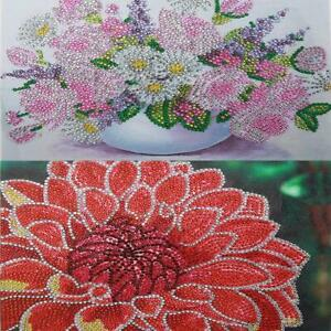 5D-DIY-Special-Shaped-Diamond-Painting-Flower-Cross-Stitch-Mosaic-Craft-Kit-h9