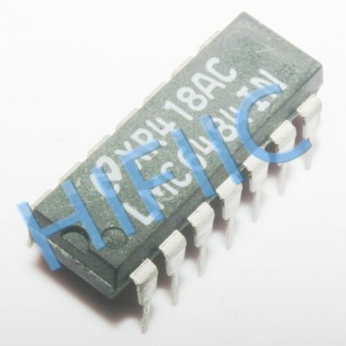 1PCS LMC6484IN Quad Rail-to-Rail Input and Output Operational Amplifier DIP14