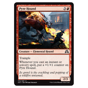 NM Card x 4 Playset Pyre Hound MTG Shadows Over Innistrad