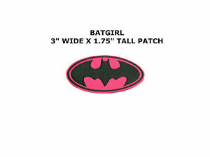 Batgirl Logo Iron On