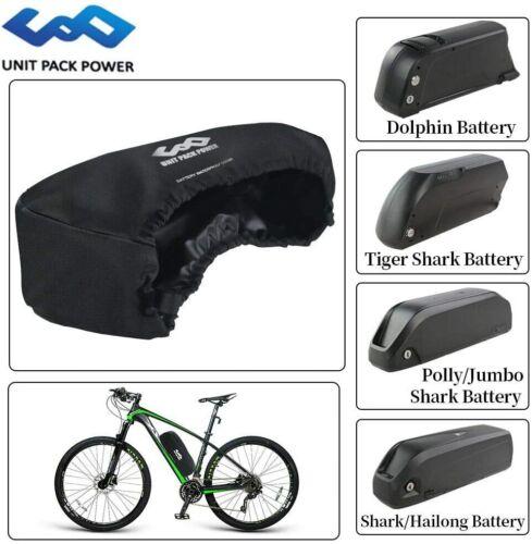 Ebike Battery Cover Bag Waterproof Dustproof Wear Resistant Frame Bag for Ebike