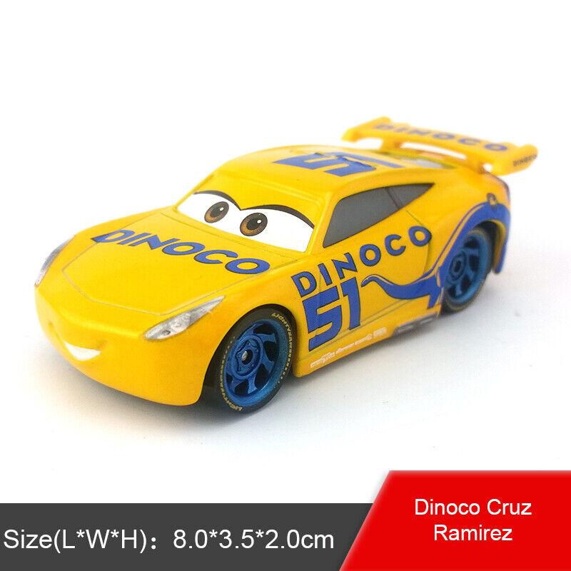 s l1600 - Disney Pixar Cars Lightning McQueen Tractor King 1:55 Model Toy Car Kids Gift