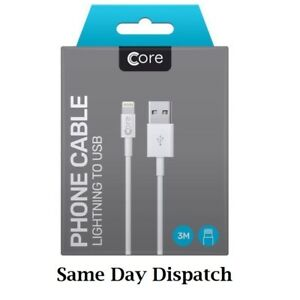 3m-Boxed-Apple-iPhone-5-6-7-Plus-iPad-Lightning-USB-Data-Charger-Lead-Cable-Long