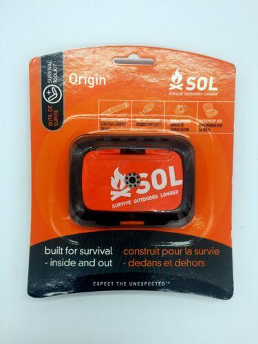 1 SOL Outdoor Camping Survival Kit Überleben Notfallset Werkzeug Wandern NEU