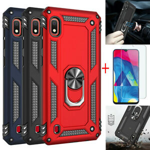 For-Samsung-Galaxy-A10-A50-A70-A30-A20-A2-Core-Magnetic-PC-Case-Screen-Protector