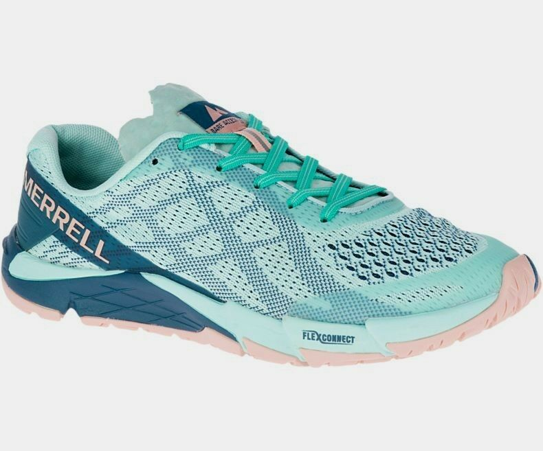 Merrell Barefoot Bare Access Flex E-Mesh  Women's Turquoise Turquoise  sale with high discount