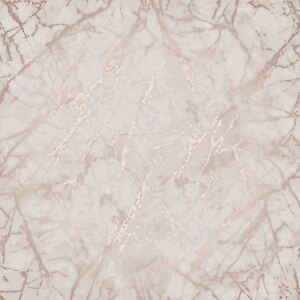 marble wallpaper rose gold  METALLIC MARBLE WALLPAPER ROSE GOLD - FINE DECOR FD42268 LUXURY | eBay