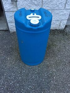 15 Gallon Plastic Drum Barrel Ebay