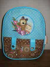Small backpack for preschool children Masha and the Bear (Masha i Medved)