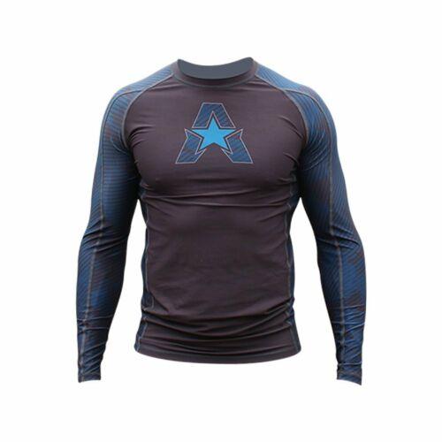 Bj Styles Helo-X Long Sleeve Rash Guard Compression Shirt Anthem Athletics 10