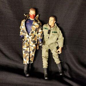Gi-Joe-Action-Figure-Toy-Lot-of-2-Trooper-corbra