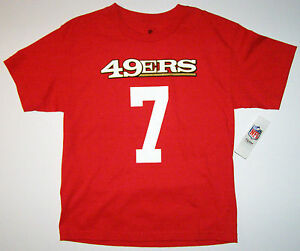 f2117c7bf NFL San Francisco 49ers Colin Kaepernick Youth Red Name and Number ...