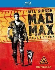 MAD MAX Trilogy Complete Movie Bluray Collection Boxset New Part 1 2 3 All Films