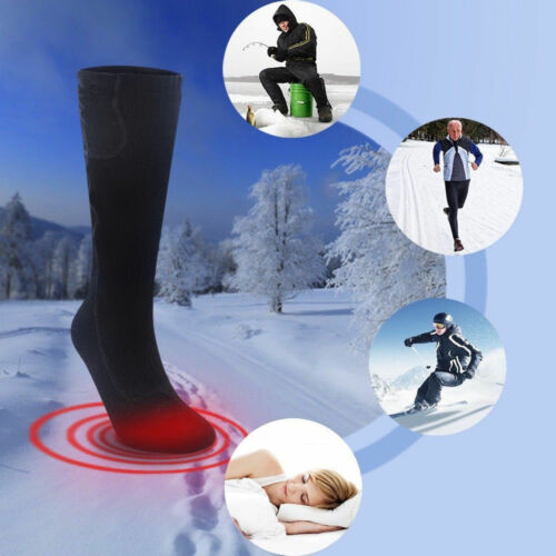 Winter Rechargeable Electric Warm Heated Socks for Chronically Cold Feet Sport