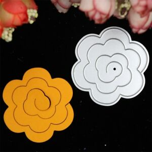 Flower-Metal-Cutting-Dies-Stencil-Scrapbook-DIY-Paper-Cards-Craft-Die-Cut-Decor