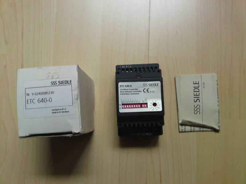 Siedle ETC 640-0 Etagen Türöffner Controller