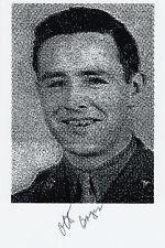 D-DAY Ranger Pointe-du-Hoc O.Bayer WWII Omaha Beach SIGNED 4x6 PHOTO