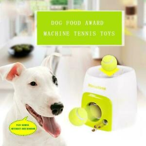 1xPet Dog Toy Interactive Training Feeding Thrower Ball Automatic P9M4
