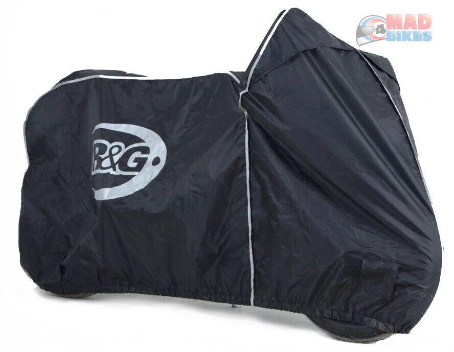 R&G Super Bike Outdoor Waterproof Motorbike Rain Cover. Latest Model BC0006BK