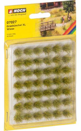 """42pcs, 12mm NOCH Grass Tufts XL /""""Meadow/"""""""