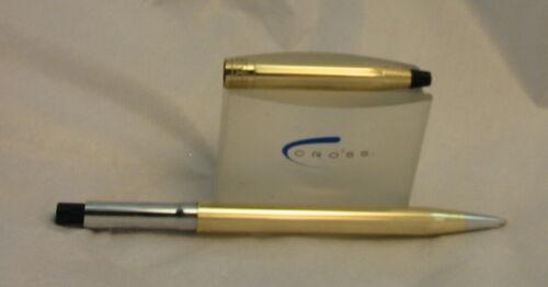 LUXURIOUS Cross Ladies Century 10K Ballpoint Pen+Etching+Purse 4542 USA SALE!