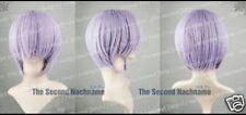 Hot Sell! New Fashion Nagato Yuki Light Purple Cosplay Wig +gift@1
