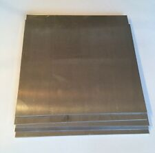 "8 Pieces - 1/8"" Aluminum Sheet Scrap Drops 12"" x 12""  5052 DIY Samples"