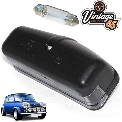 Lucas Style Black Plastic Classic Car Number Plate Light L467 56790 BHA4153