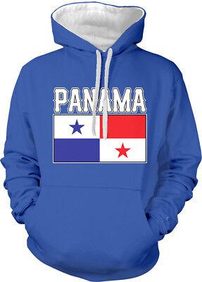 Panama Text Flag Panamanian Flag Panameno Bandera Orgullo Hoodie Pullover