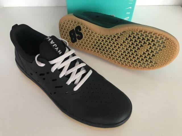 030a3fa3667f Nike SB Nyjah Free Men New Black Lifestyle Skateboard Shoes US 7.5  AA4272-002
