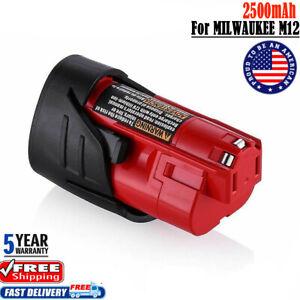 48-11-2401 Bateria para milwaukee c12 PPC m12 ir c12 WS m12 c12 B m12 JS