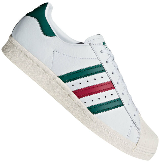 buy popular 4fad1 47c75 adidas Superstar 80s Shoes Retro Sneaker Samba Special Dragon Foundation  Pack White White-green Mystery Ruby Cq2654 UK 13 5 for sale online   eBay